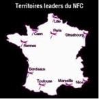 Carte de France sur le NFC