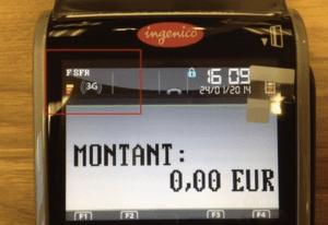 Terminal de paiement iwl 250 3G