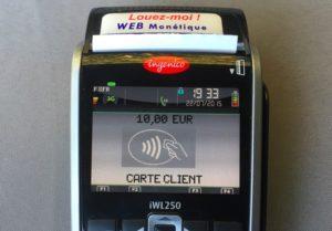 Tpe iwl 250 3G sans contact