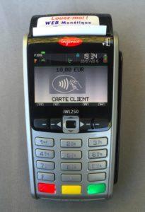Terminal de paiement 3G sans contact